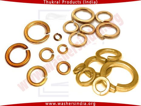brasss spring washers - brass spring lock washers manufacturers in india punjab ludhiana