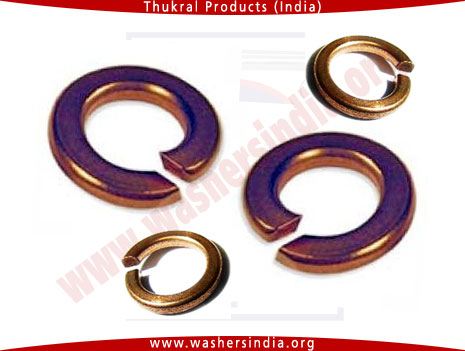 copper spring Washers - copper spring lock washer manufacturers in india punjab ludhiana