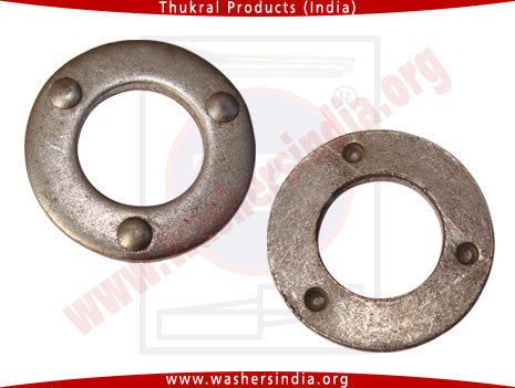 Dimple Washers, plain washers, mild steel plain washer, din125, din126 washers manufacturers exporters in india