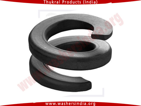 double coil spring washers - double coiled spring lock washer manufacturers in india