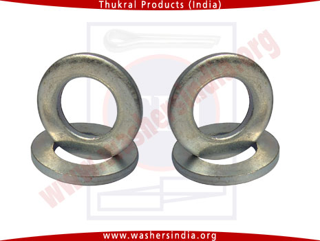 structural plain washers, construction plain washer, din125, din126 mild steel washers manufacturers exporters in india