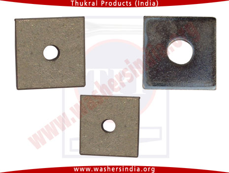 square washers -square washer manufacturers in india punjab ludhiana