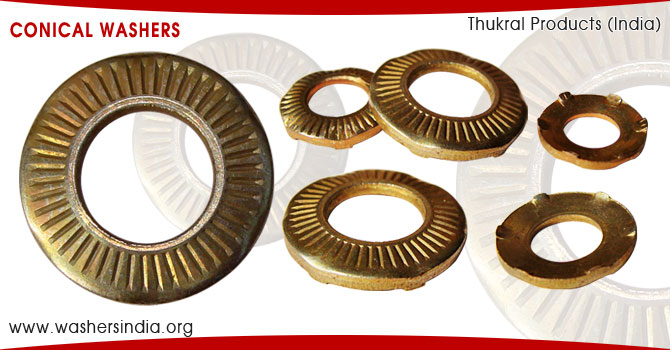 Conical Washers Belleville Spring Washer disc Washer manufacturers suppliers exporters in india punjab ludhiana