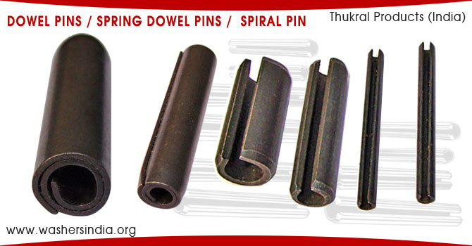 Dowel Pins Spring Dowel Pins roll pins slotted dowel pin hollow dowel pins manufacturers suppliers exporters in india punjab ludhiana